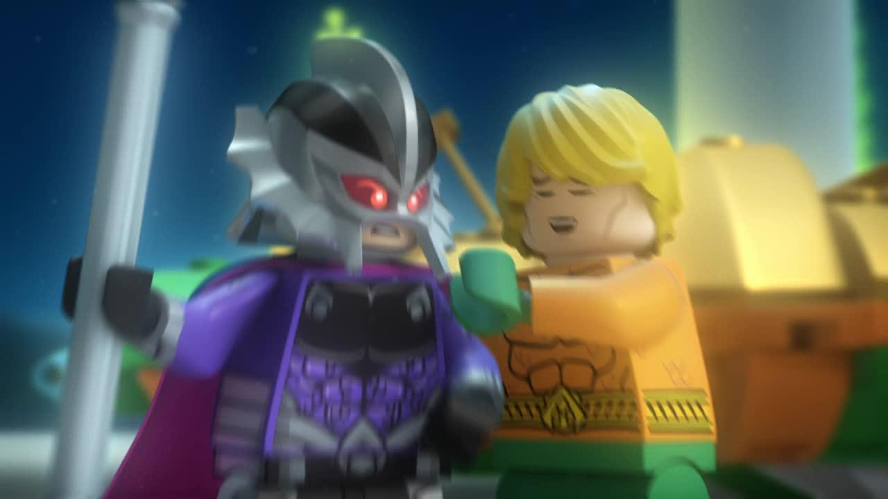Lego DC Super hrdinove   Aquaman  2018 CZ dabing