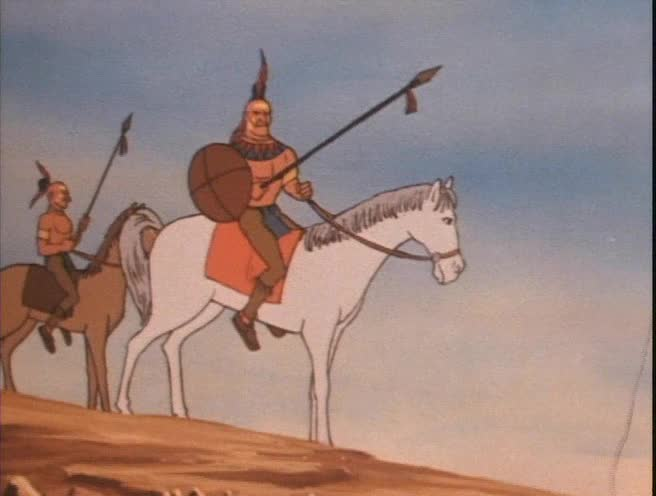 Indianska legenda  Hiawatha   1988  cz dabing  animovany