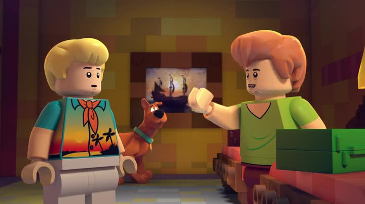 Lego Scooby Doo - Pripad piratskeho pokladu 2017 BDRip CZ dabing