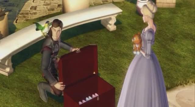 Barbie a 12 tancicich princezen  2006