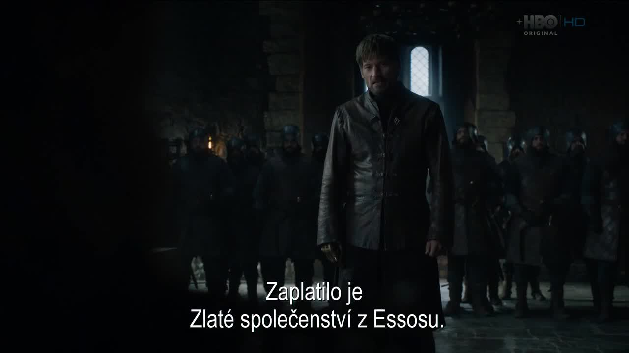 Hra o truny Game of Thrones S08E02 CZ Titulky Nicole