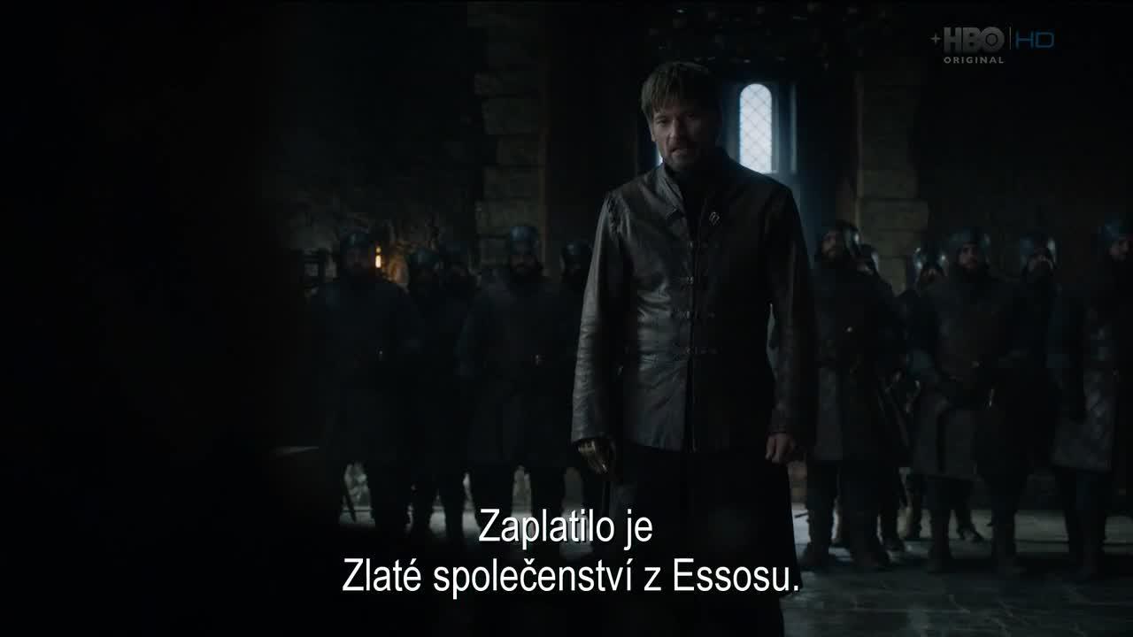 Hra o truny Game of Thrones S08E02 CZ Titulky Nicole