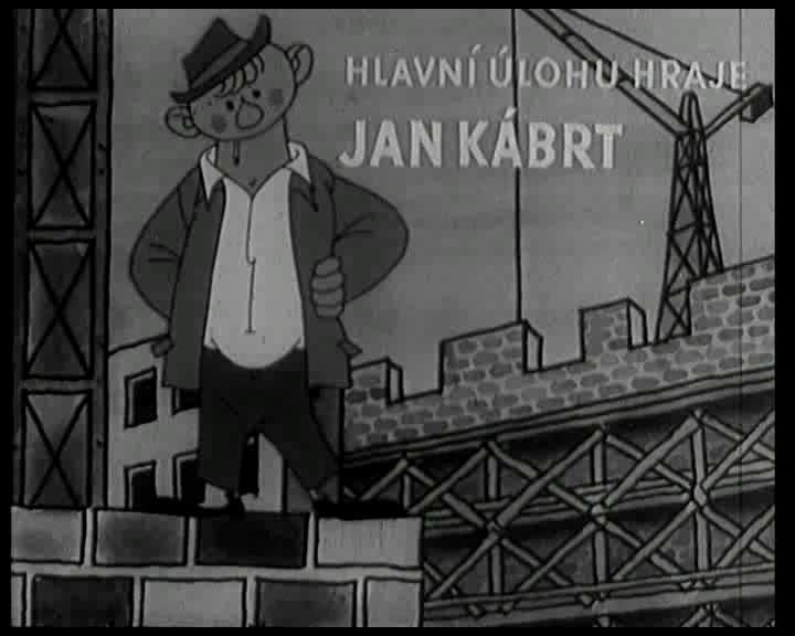 Zmoudreni Jana Kabrta 1953 CZ komedie parodie