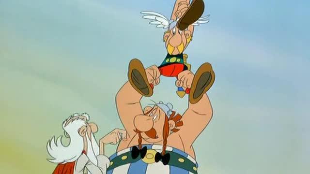 Asterix a velky boj 1989 cz Anim
