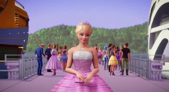 Barbie Rock   n Royals CZ dabing  2015