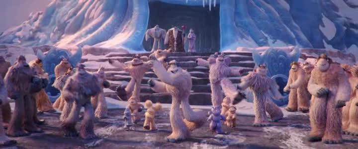 Yeti Ledove dobrodruzstvi  CZ dabing  2018  animovany