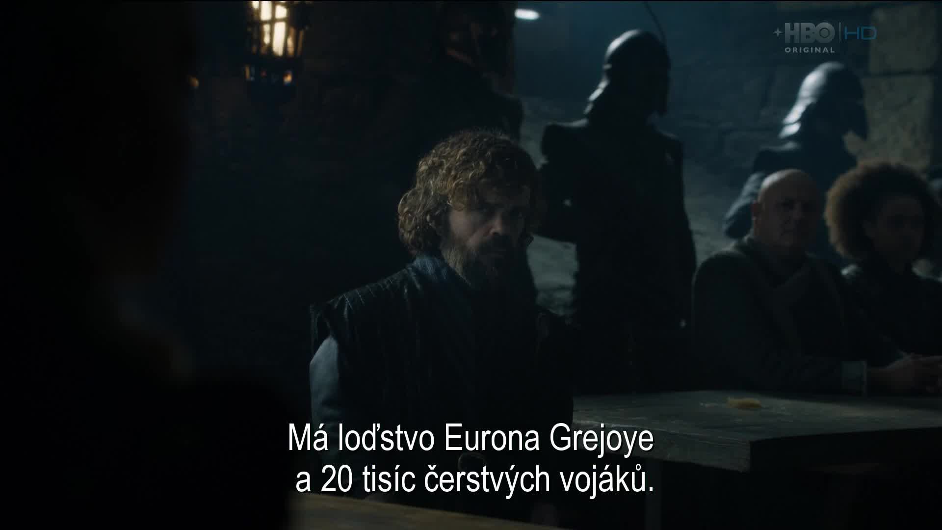 Game of Thrones S08E02 CZ titulky v obraze HD