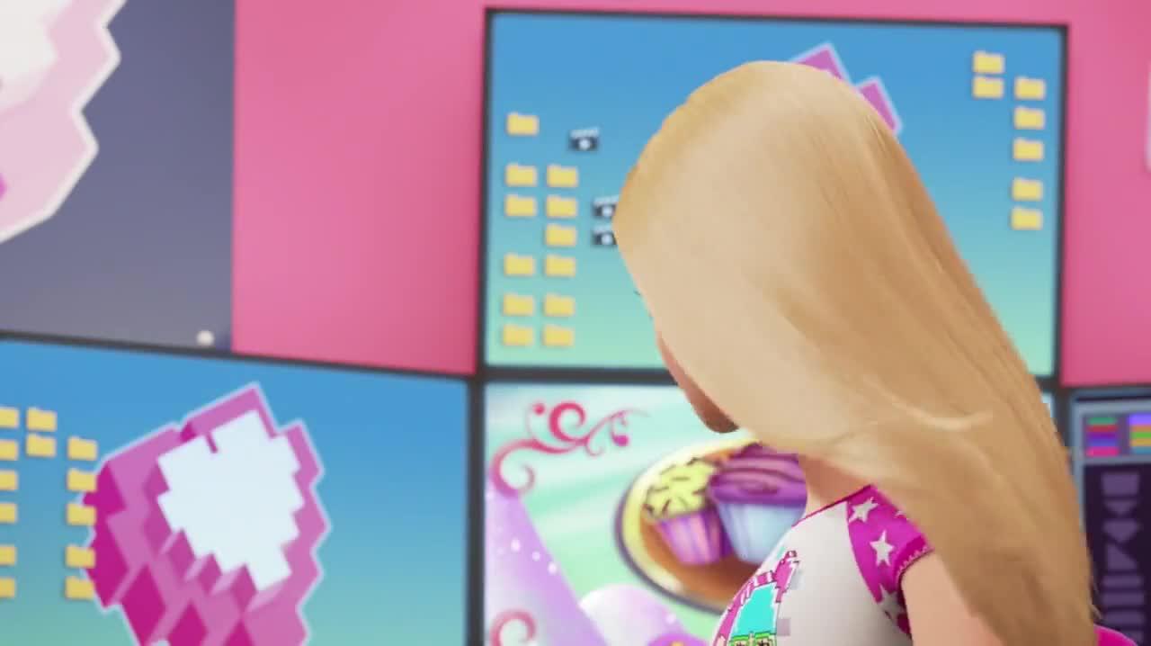 Barbie Video Game Hero 2017 720p WEBRip x264 AAC ETRG