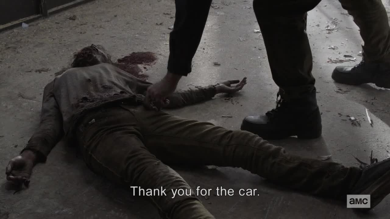 Zivi mrtvi Pocatek konce S05E04 CZ titulky HD