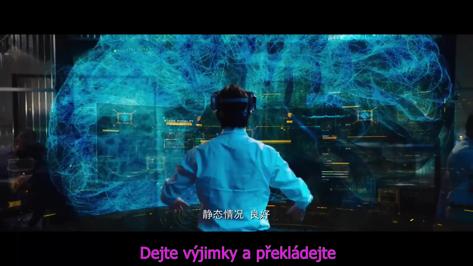 Replicas 2018 CZ tit v obraze Super 1080p HC WEBRip MkvCage Sci Fi Novinka