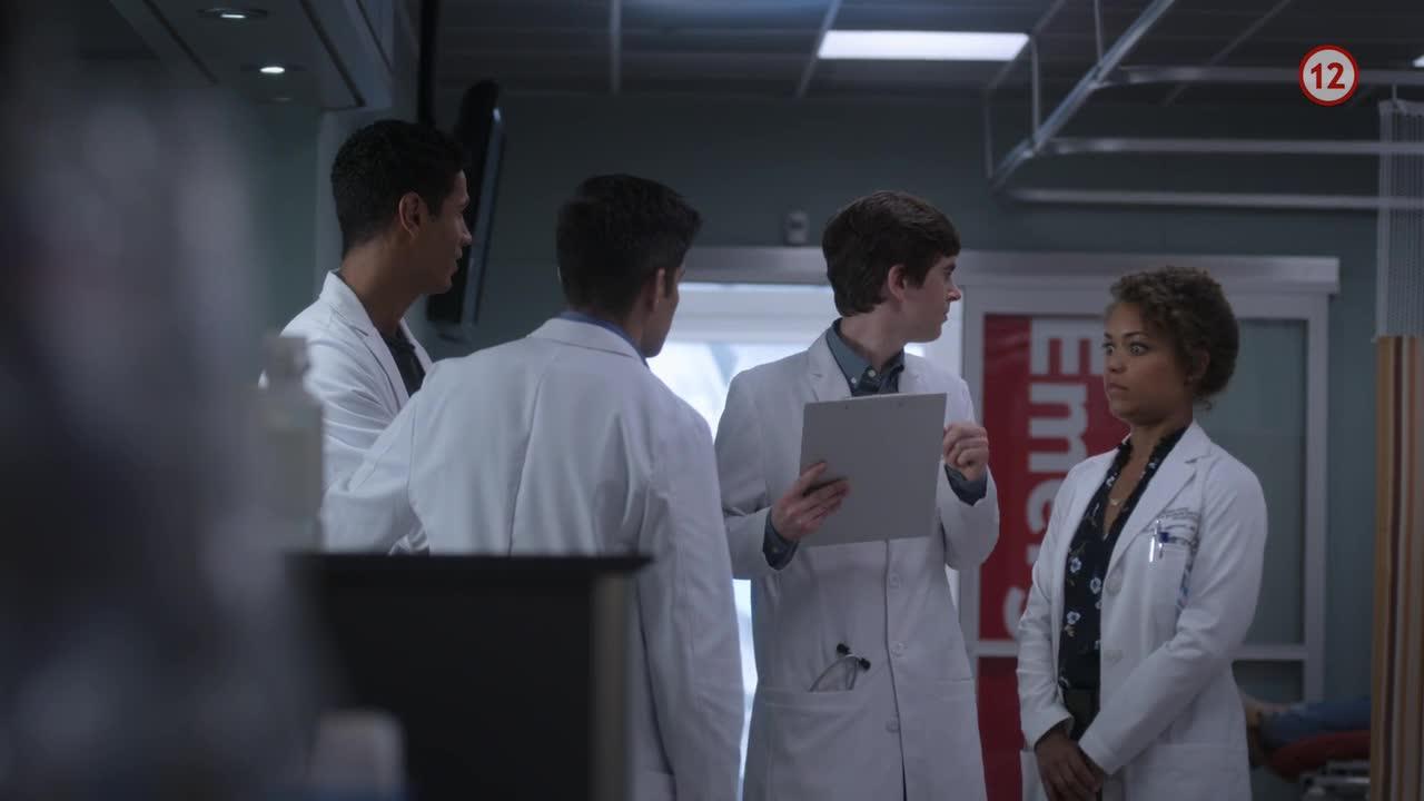 Dobry doktor S01E05 SK dabing 720p