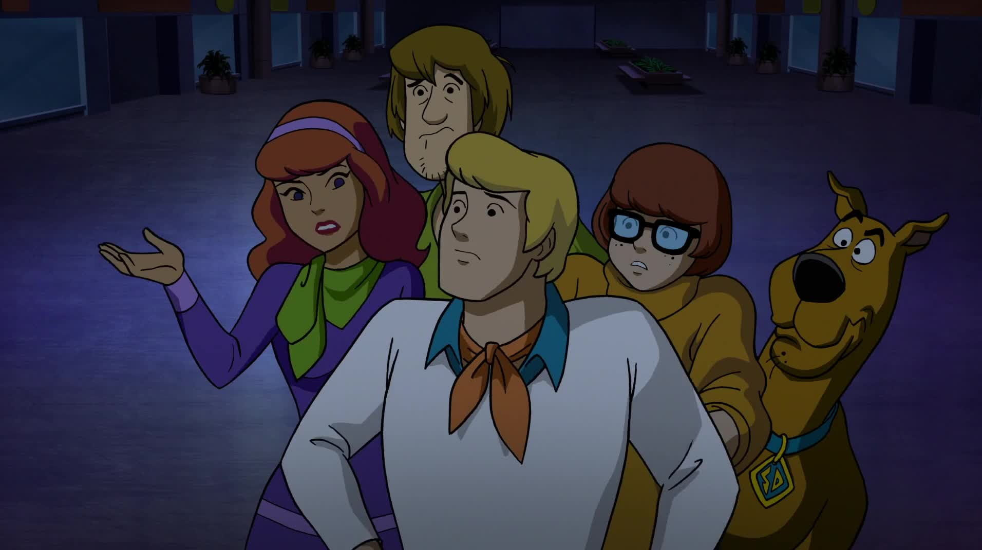 Scooby Doo and the Curse of the 13th Ghost 2019 CZ titulky HD