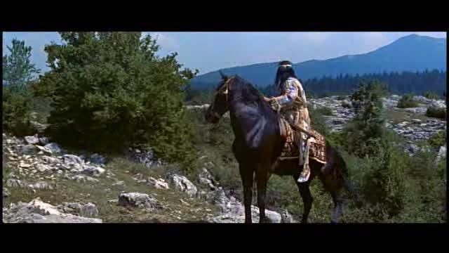 Vinetou  Poklad na Stribrnem jezere 1962 West DVD CZ
